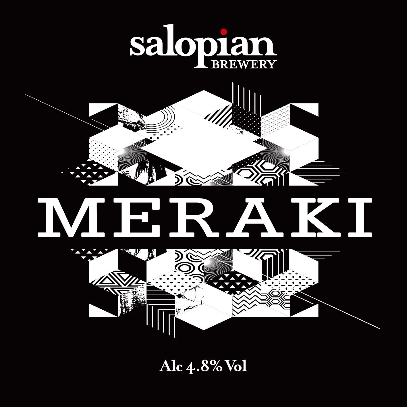 Salopian Meraki Chocolate&Vanilla Stout 9 Gallons Dark 4.8%