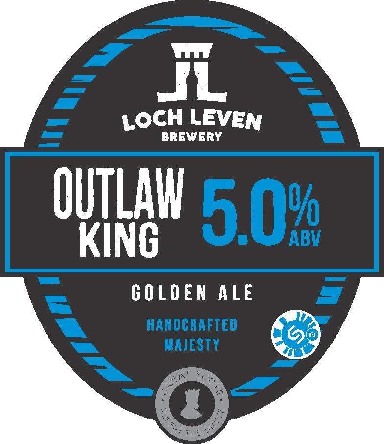 Loch Leven Outlaw King 9 Gallons Golden 5.0%