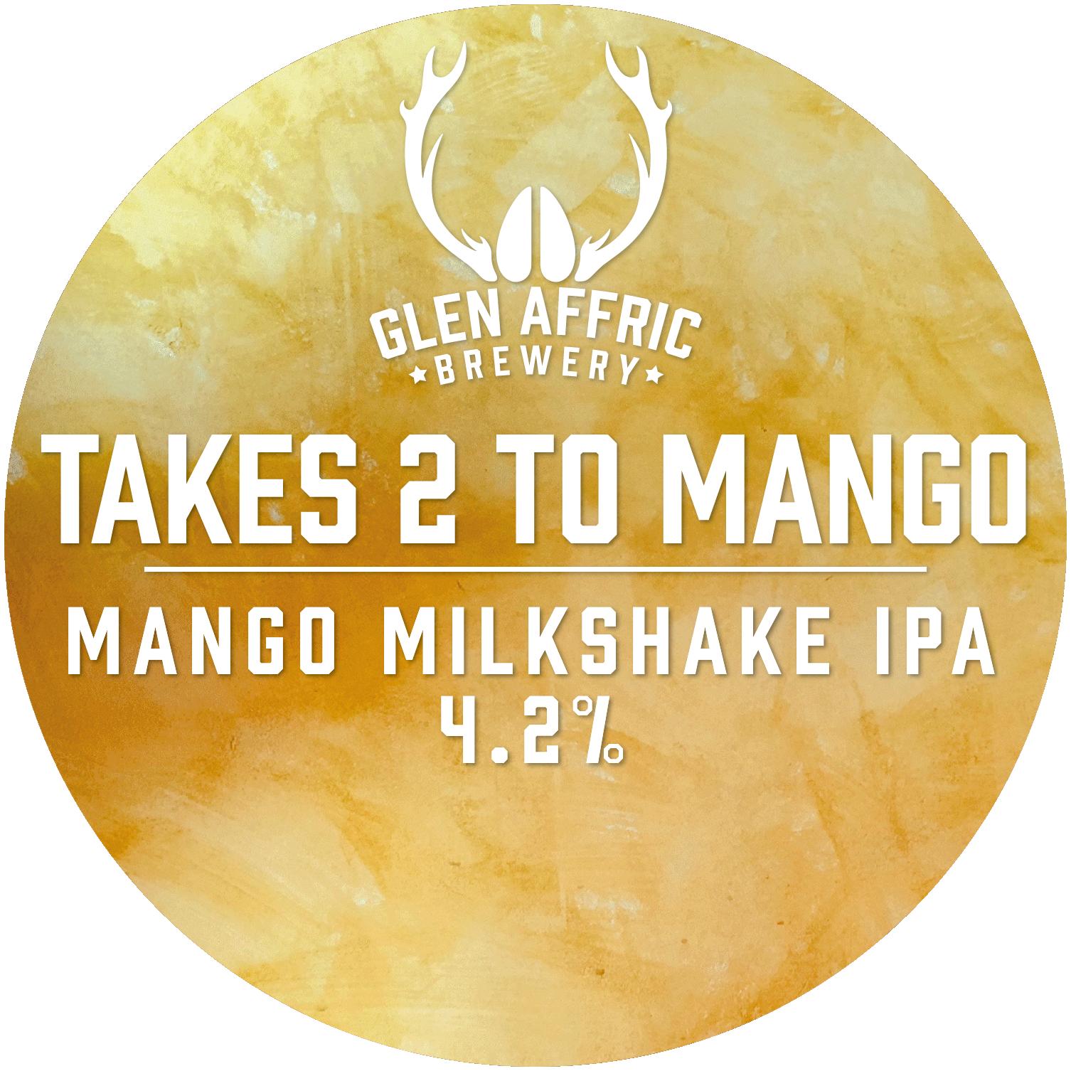 Glen Affric Takes 2 To Mango 30Ltr Key Keg Pale 4.2%