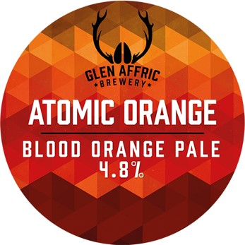 Glen Affric Atomic Orange 30Ltr Key Keg Orange 4.8%
