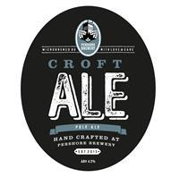 Pershore Brewery Croft Ale 9 Gallons Pale    4.2%