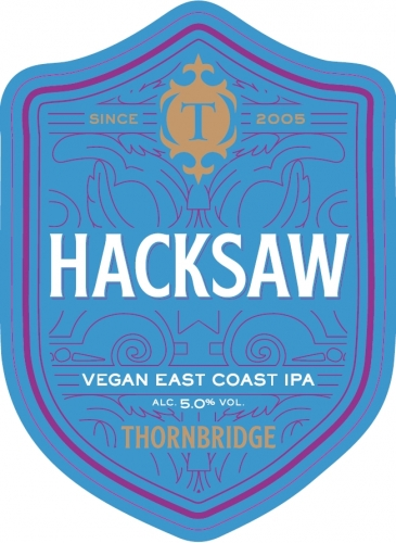 Thornbridge Hacksaw (Vegan) 9 Gallons Hazy Pale 5.0%
