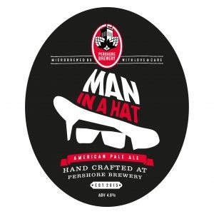 Pershore Brewery Man in a Hat APA9 Gallons Pale 4.8%