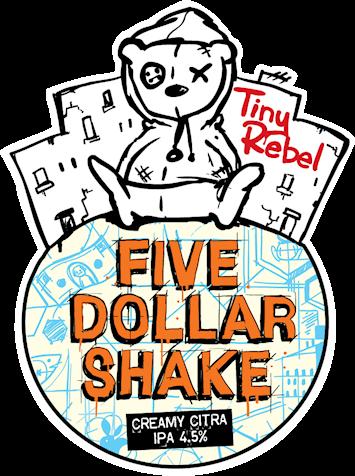 Tiny Rebel Five Dollar Shake 9 Gallon Pale 4.5%