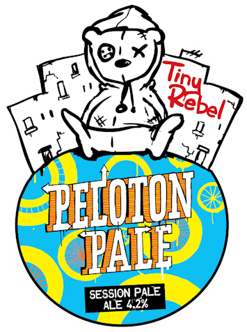 Tiny Rebel Peloton Pale 9 Gallons Pale 4.2%