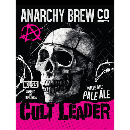 Anarchy Brew Cult Leader (Unfined) 9 Gallons Pale 5.5%
