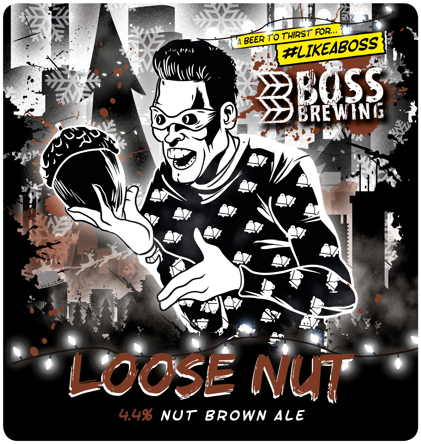 Boss Brewing Loose Nut 9 Gallons Rich Nutty 4.4%