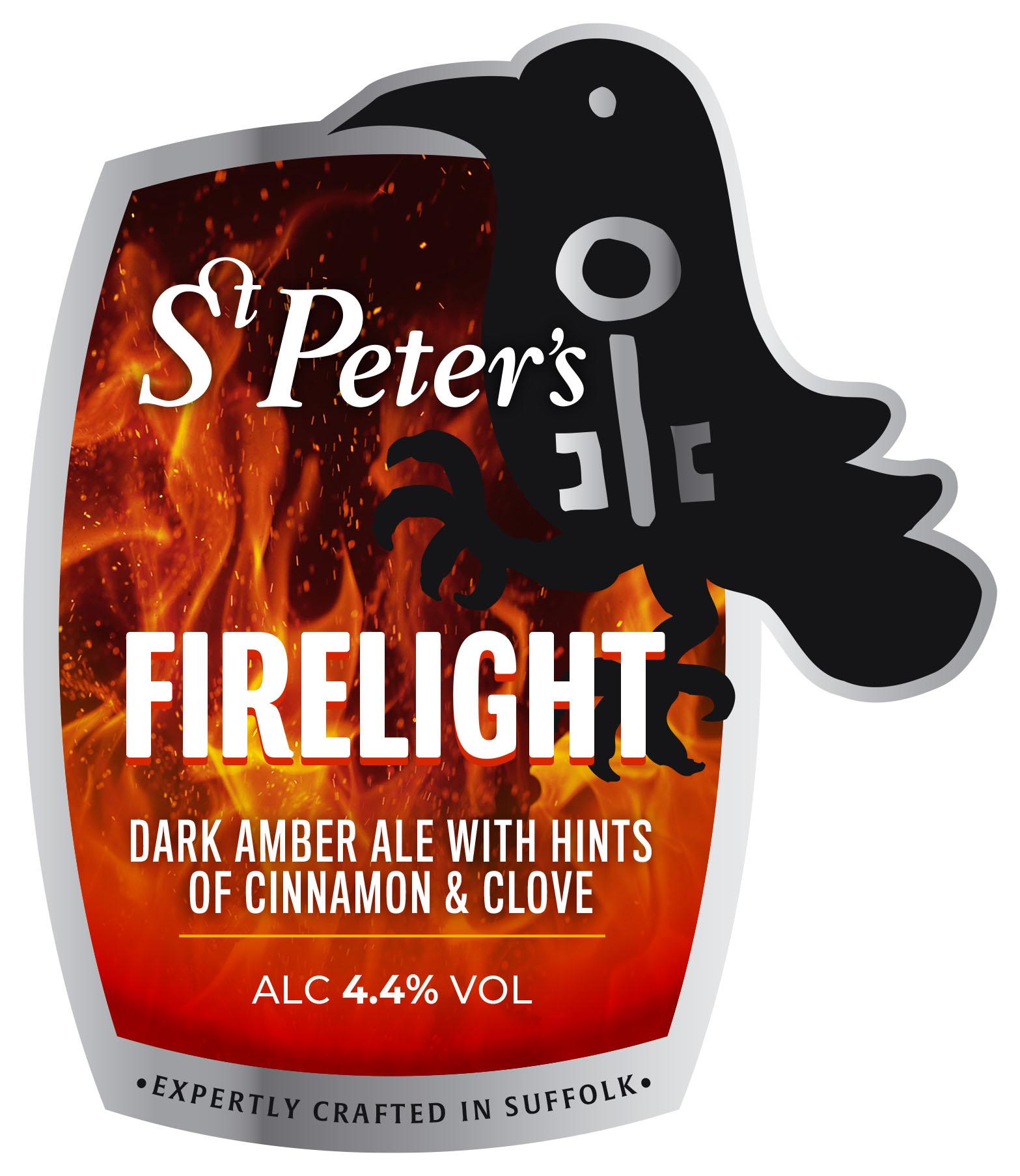 St Peters Firelight 9 Gallons Dark Amber 4.4%