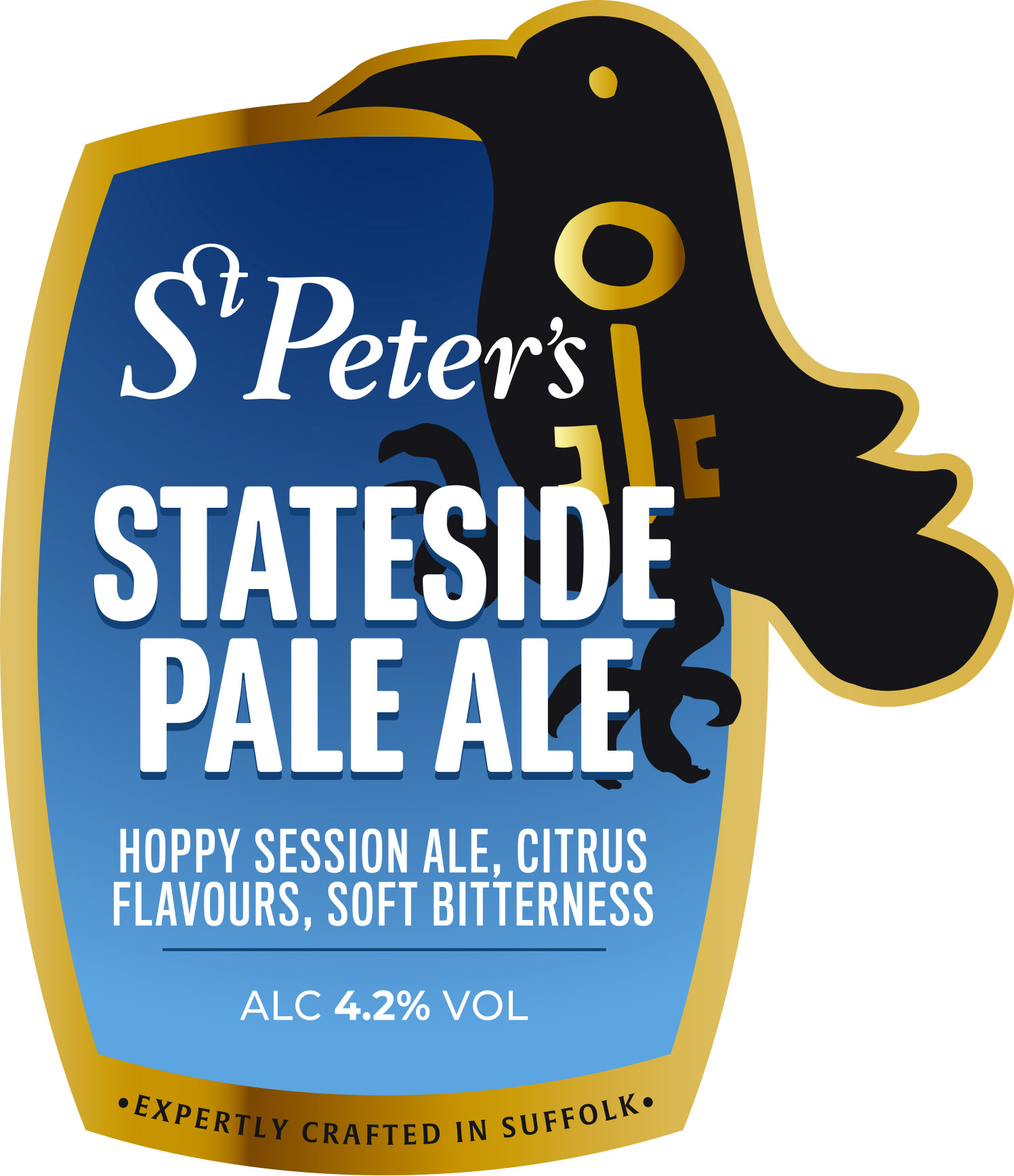 St Peters Stateside Pale 9 Gallons Pale 4.2%