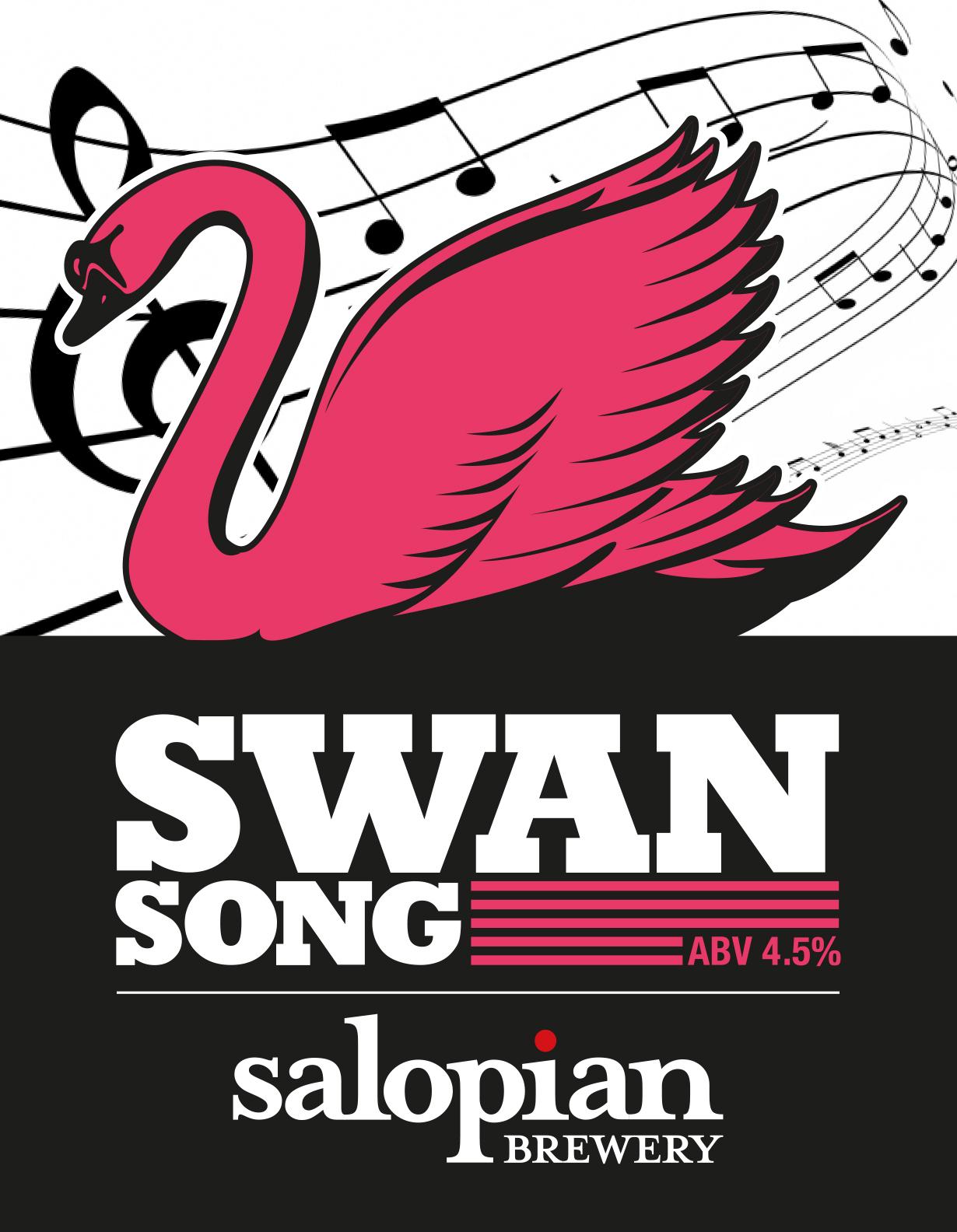 Salopian Swan Song 9 Gallons Golden 4.5%