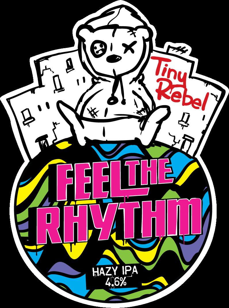 Tiny Rebel Feel The Rhythm 9 Gallons Hazy Pale 4.6%