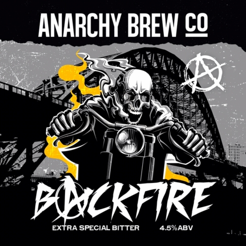 Anarchy Brew Backfire 9 Gallons Amber 4.5%