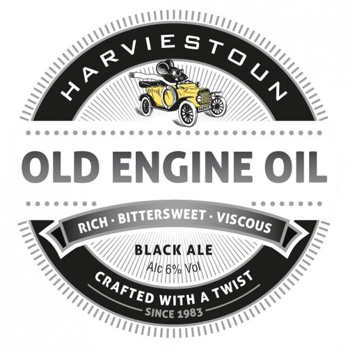 Harviestoun Old Engine Oil Stout 9 Gallons Dark   4.5%