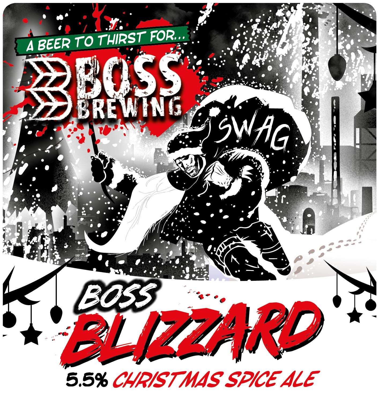 Boss Brewing Blizzard 9 Gallons Deep Brown 4.0%