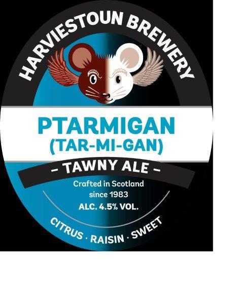 Harviestoun Ptarmigan 9 Gallons Tawny    4.5%