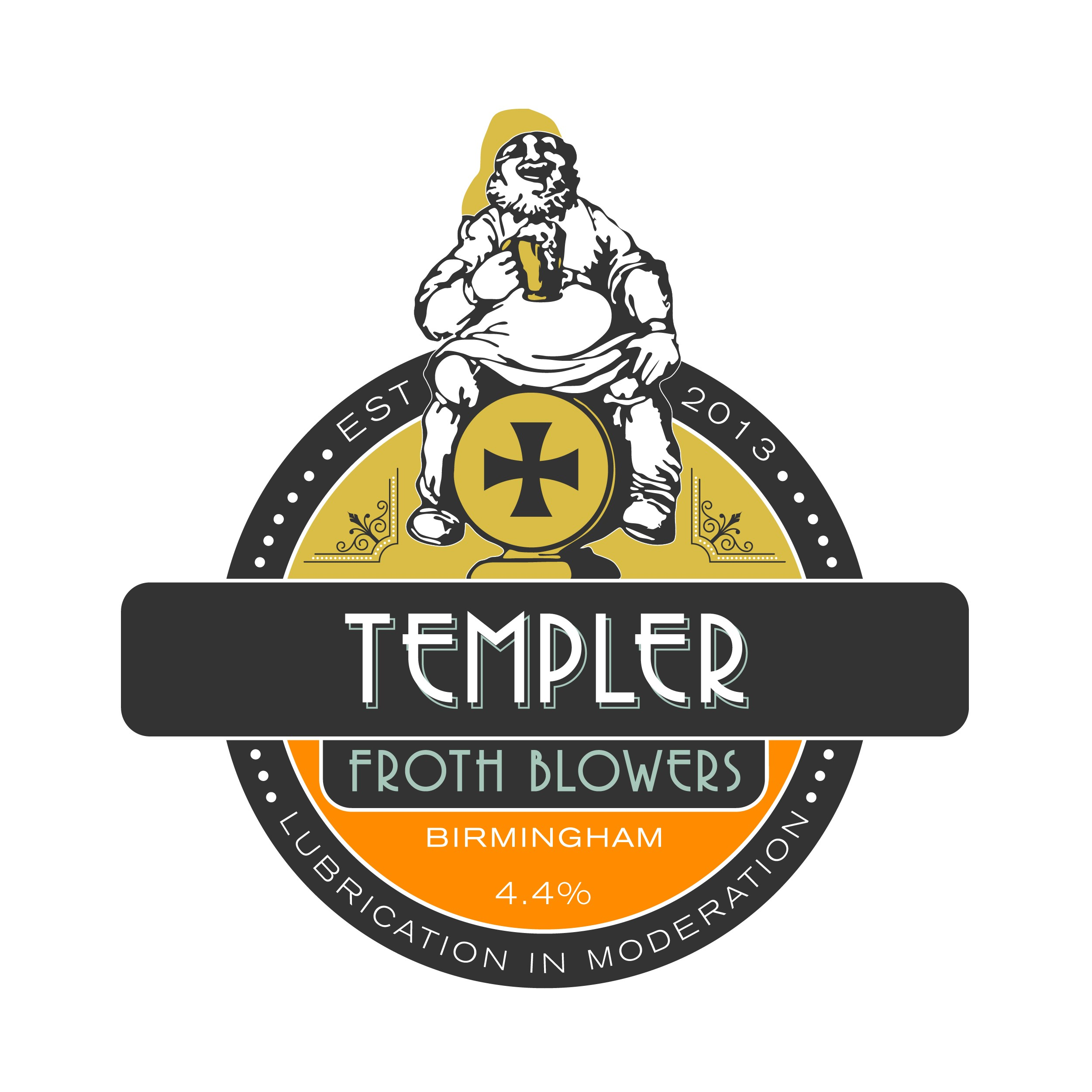 Froth Blowers Templer 9 Gallons Amber 4.4%
