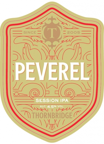 Thornbridge Peveral IPA 9 Gallon Pale 4.5%