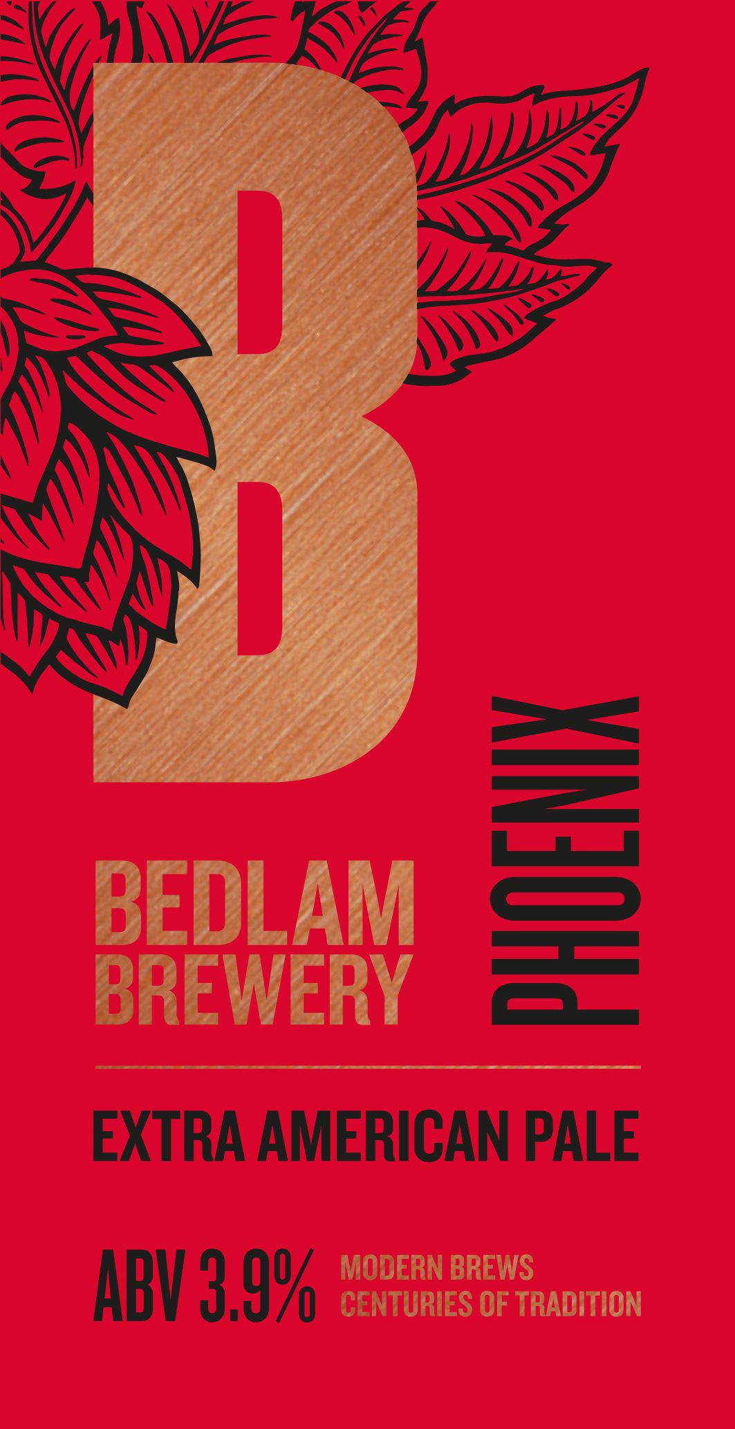 Bedlam Brewery Phoenix 9 Gallons Pale    3.9%