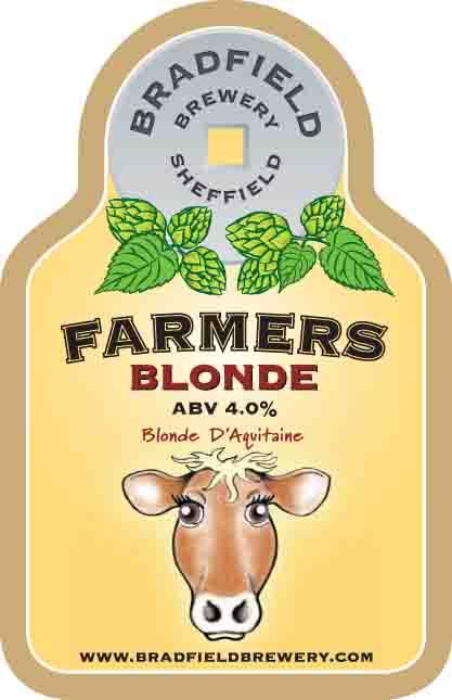 Bradfield Farmers Blonde 9 Gallons Blonde    4.0%