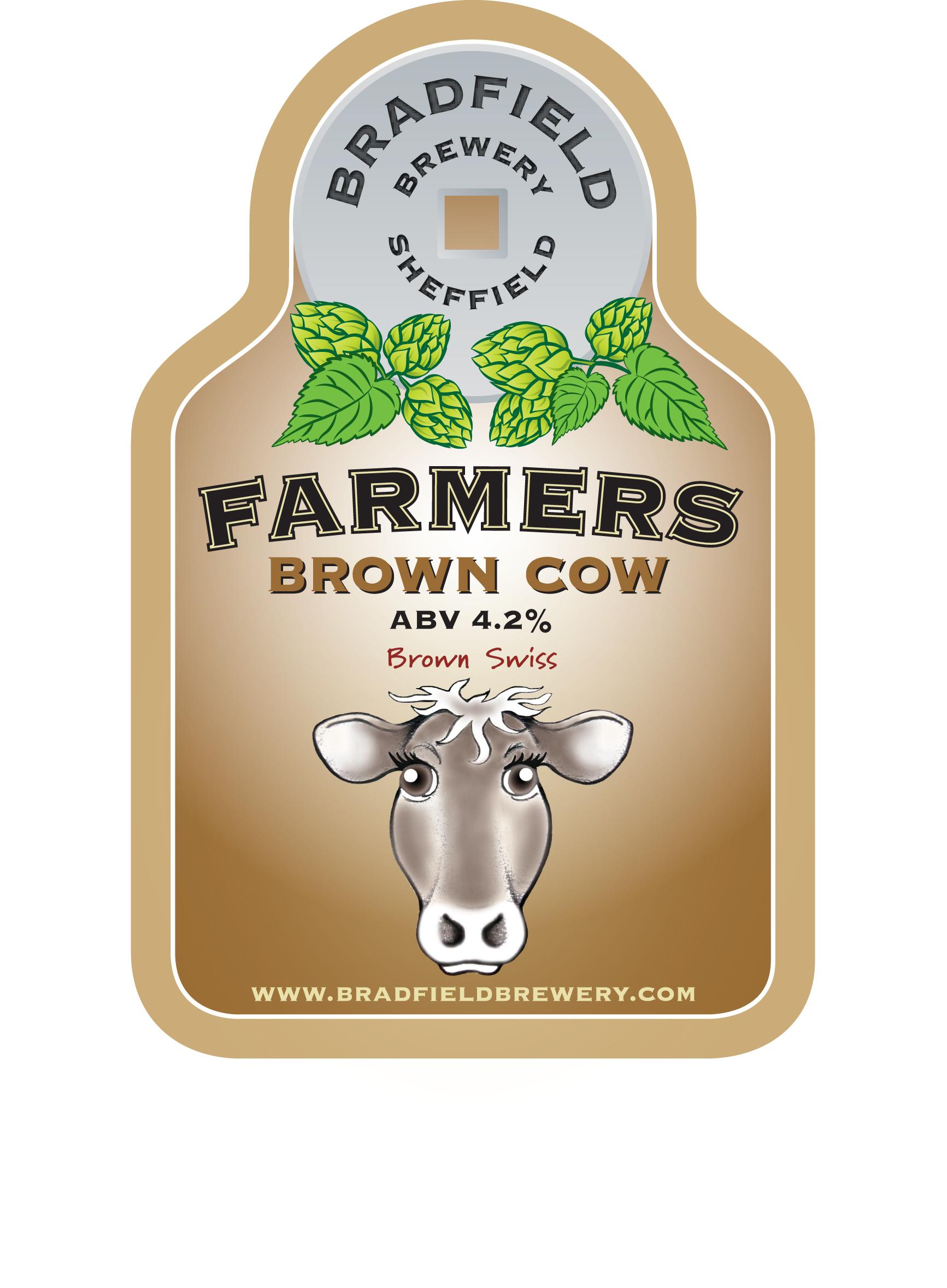 Bradfield Farmers Brown Cow 9 Gallons Chestnut    4.2%