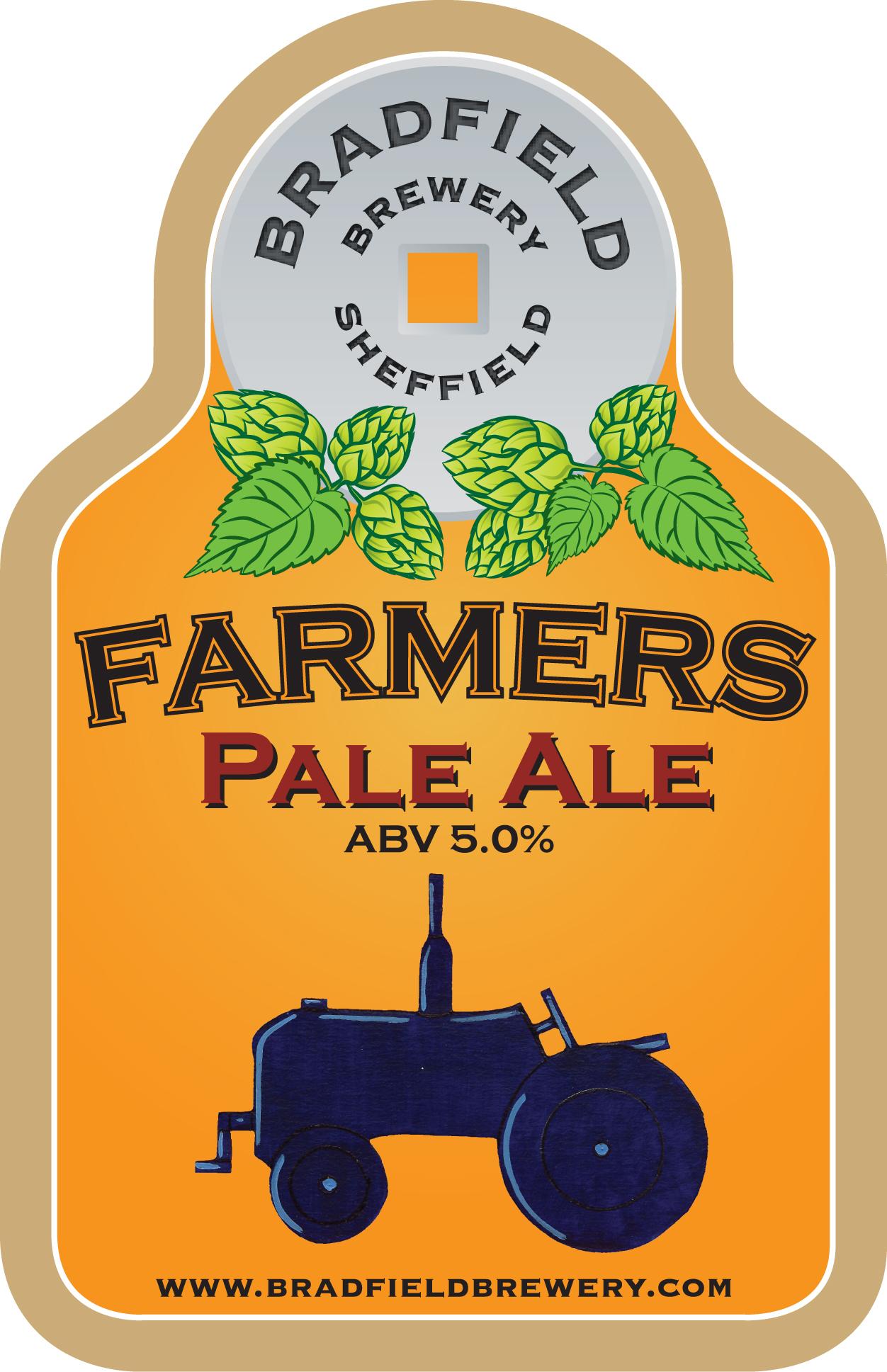 Bradfield Farmer's Pale Ale 9 Gallons Pale   5.0%