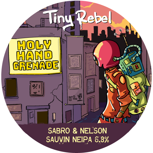 Tiny Rebel Holy Hand Grenade 30Ltr E-keg Hazy Pale 6.8%