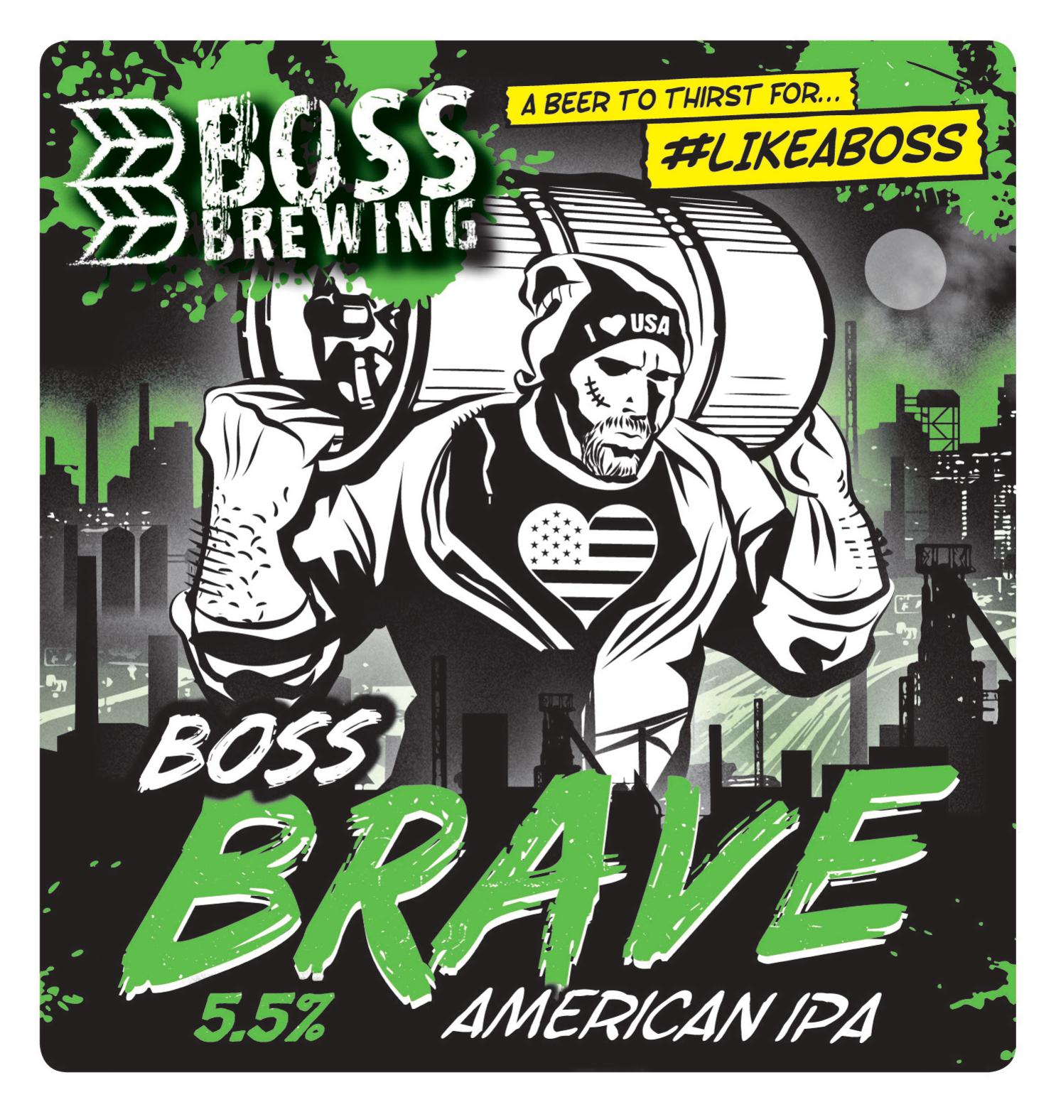 Boss Brewing Brave 9 Gallons Pale 5.5%