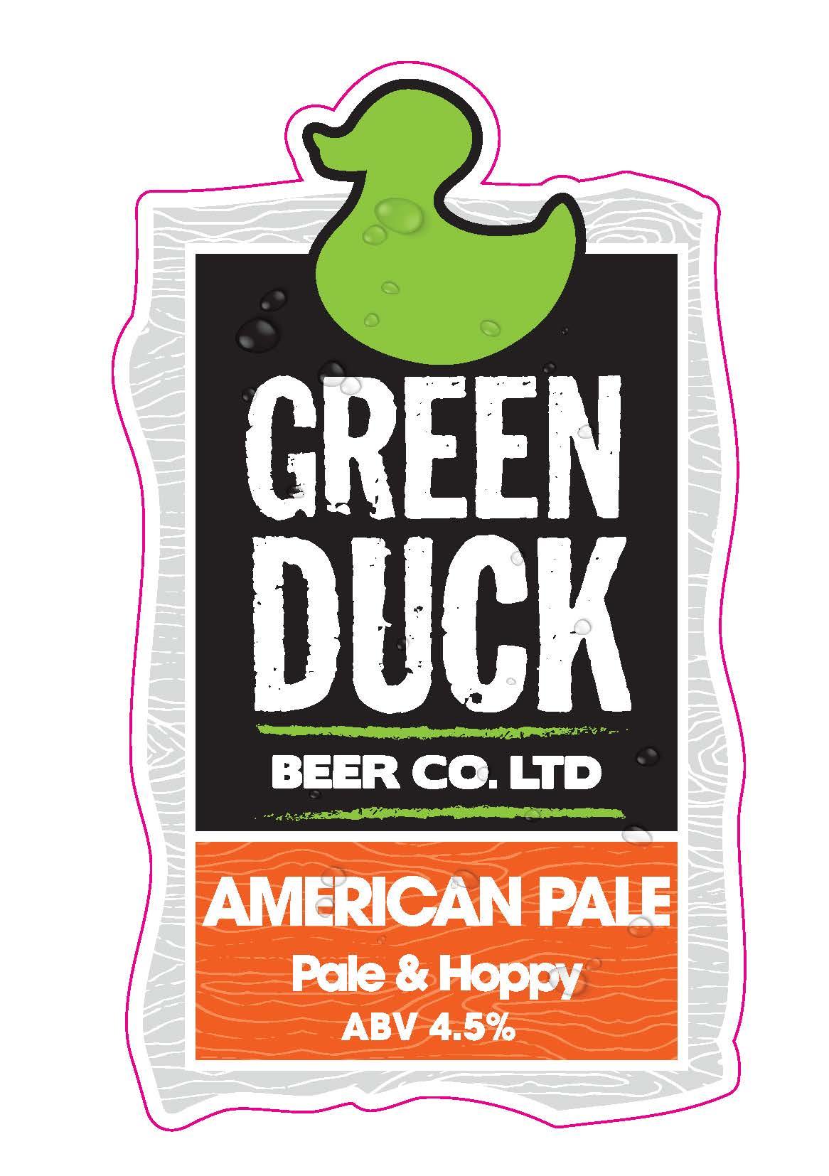 Green Duck American Pale 9 Gallon Pale 4.5%