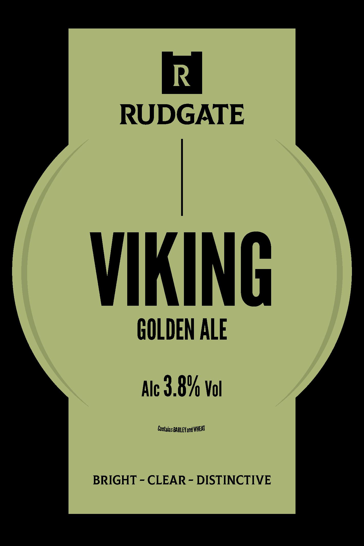 Rudgate Viking 9 Gallons Golden   3.8%