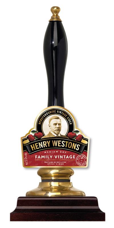 Westons Henry Westons Family Vintage 10Ltr Bib Clear 5.0%