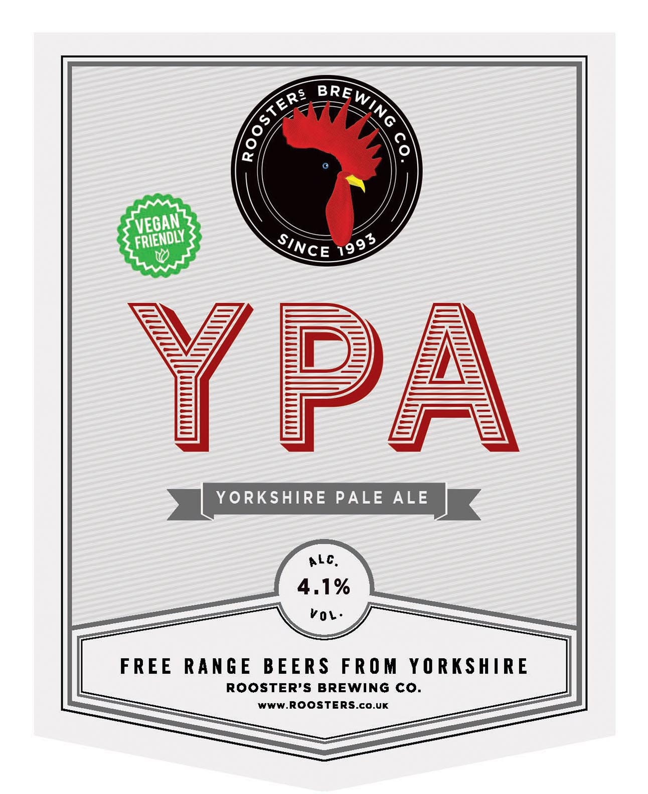 Rooster's YPA 9 Gallons Pale 4.1%