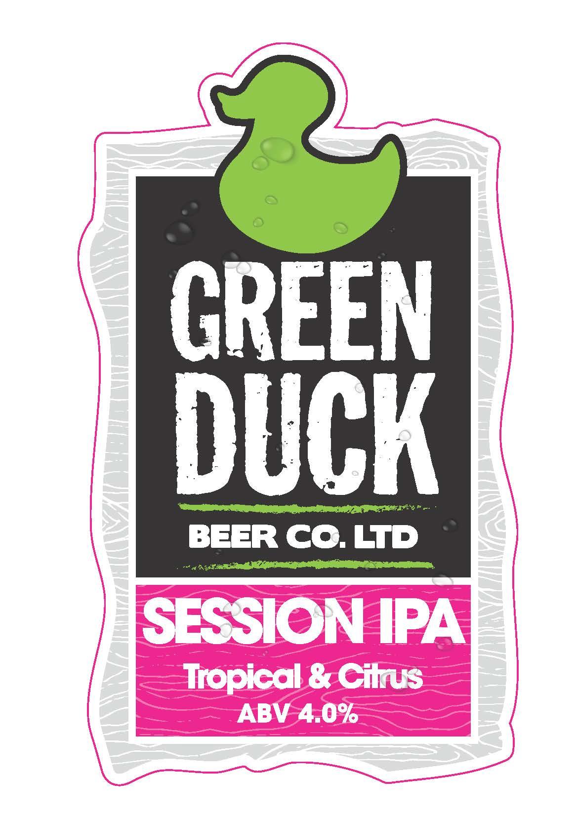 Green Duck Session IPA 9 Gallon    4.0%