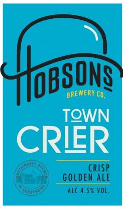 Hobsons Town Crier  9 Gallons Golden 4.5%