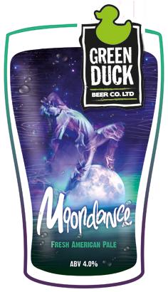 Green Duck Moondance 9 Gallon Pale 4.0%