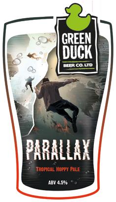 Green Duck Parallax 9 Gallon Pale 4.5%