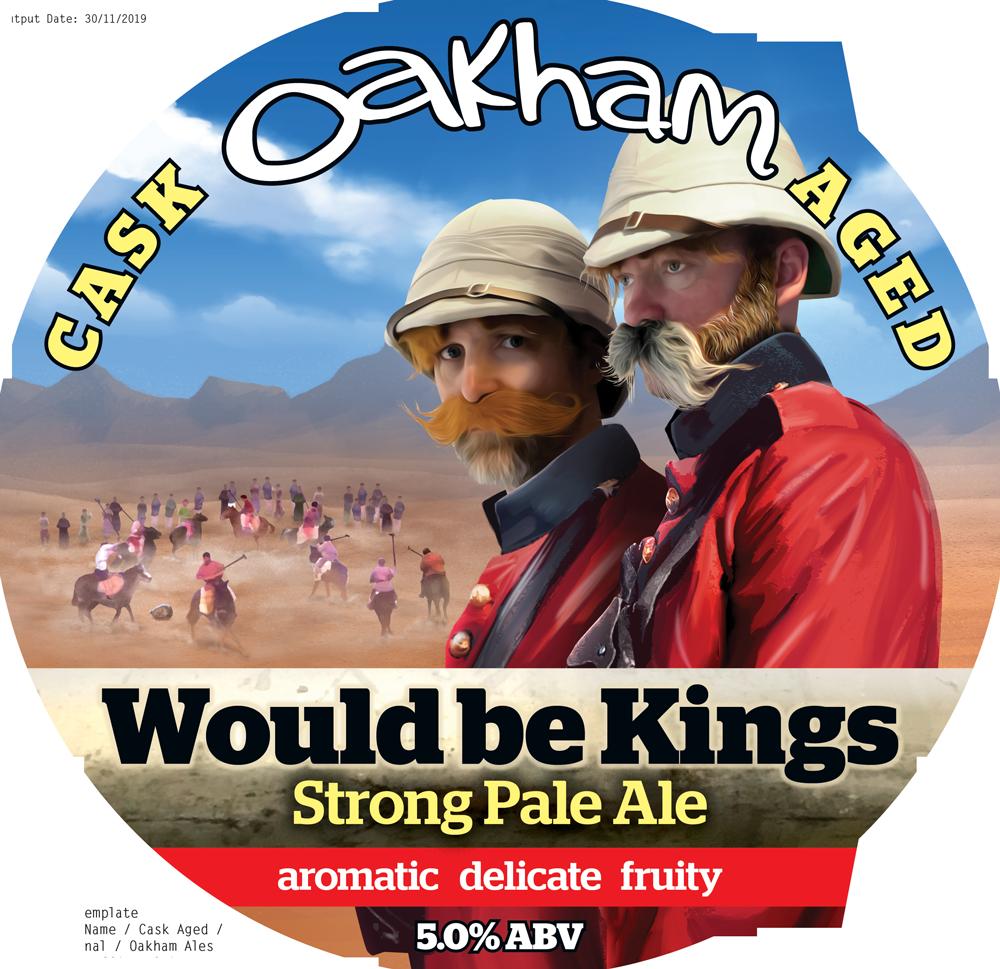 Oakham Would Be Kings 9 Gallon Pale 5.0%