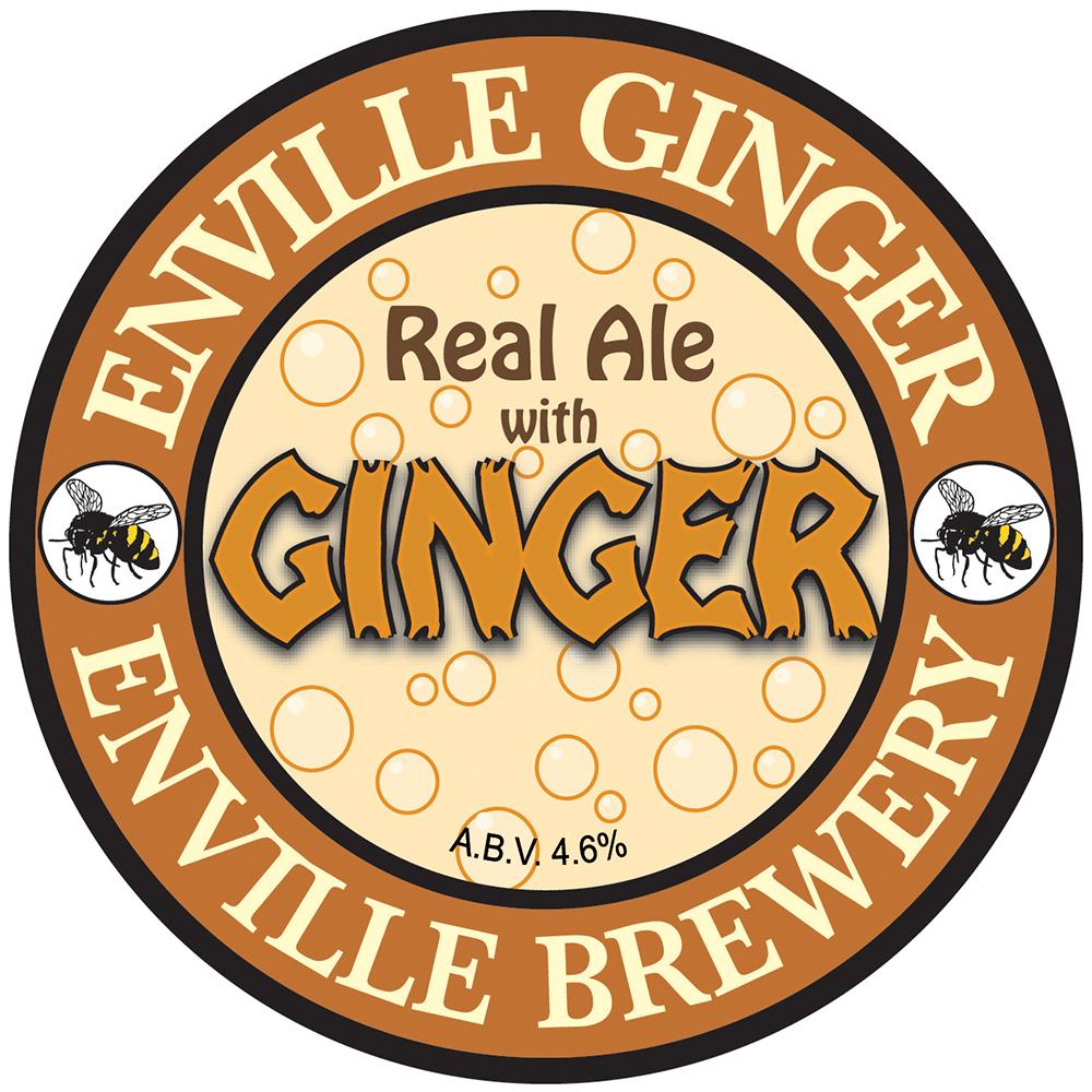 Enville Ginger Beer 9 Gallons Golden 4.6%