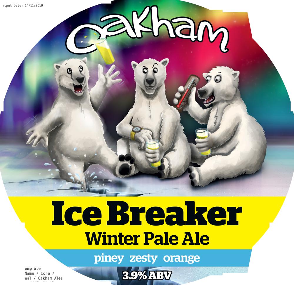 Oakham  Ice Breaker 9 Gallons Pale 3.9%