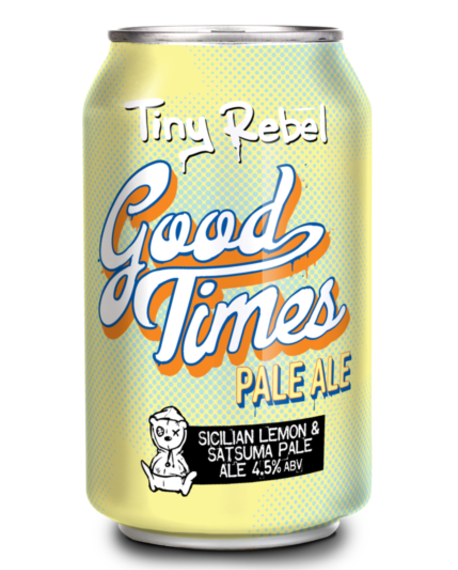 Tiny Rebel Good Times 24x330ml Cans 4.5%