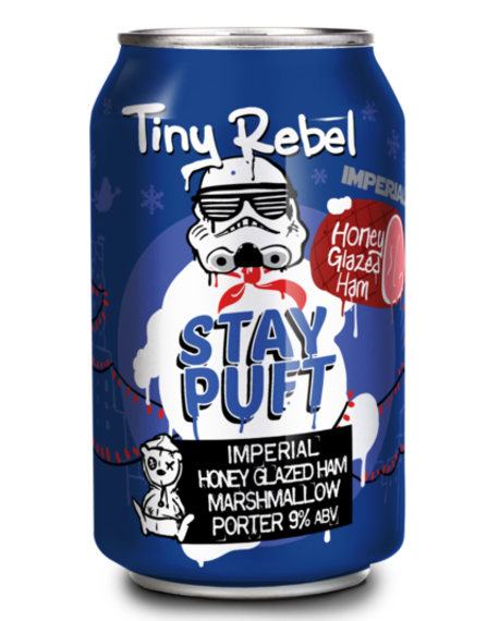 Tiny Rebel Imperial Stay Puft Honey Ham 12x330ml Cans 9.0%