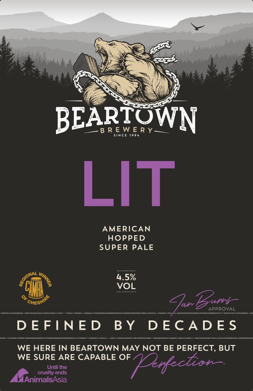 Beartown LIT 9 Gallons Pale   4.5%