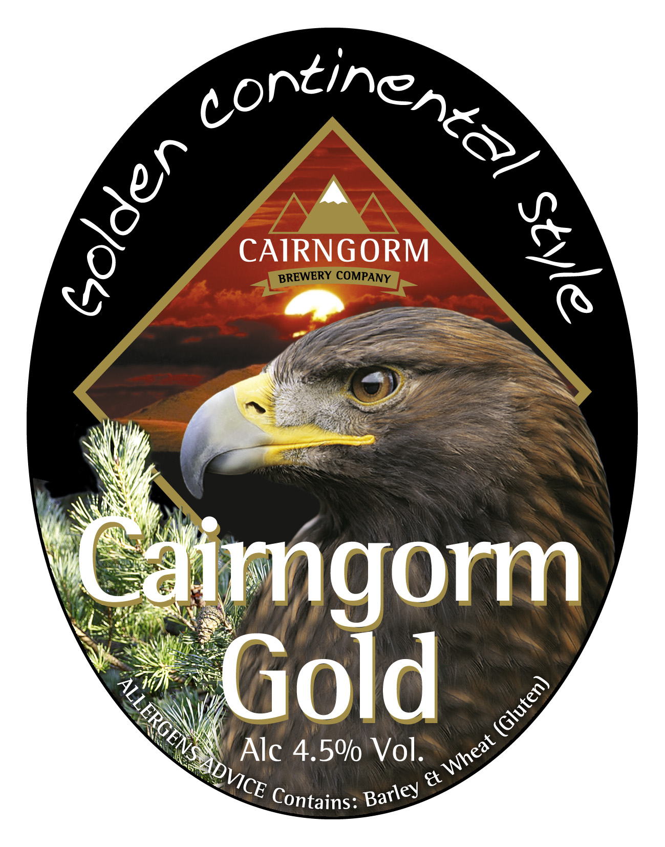 Cairngorm Gold 9 Gallons  Golden  4.5%