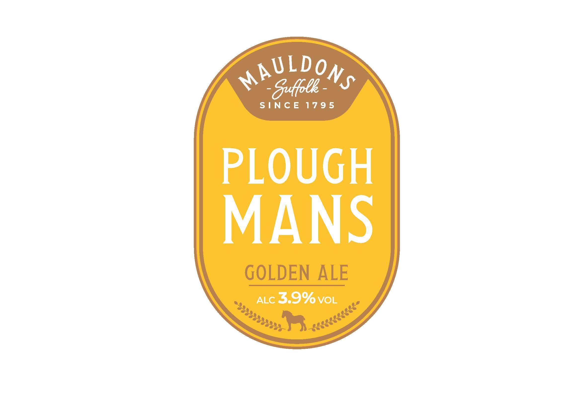 Mauldons Ploughmans 9 Gallons Golden 3.9%