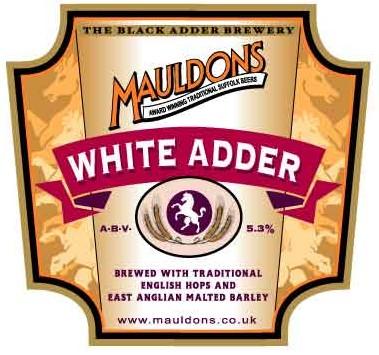 Mauldons White Adder 9 Gallons Golden 5.3%