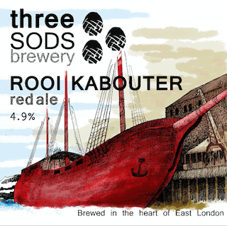 Three Sods Brewery Rooi Kabouter 9 Gallons Red 4.9%