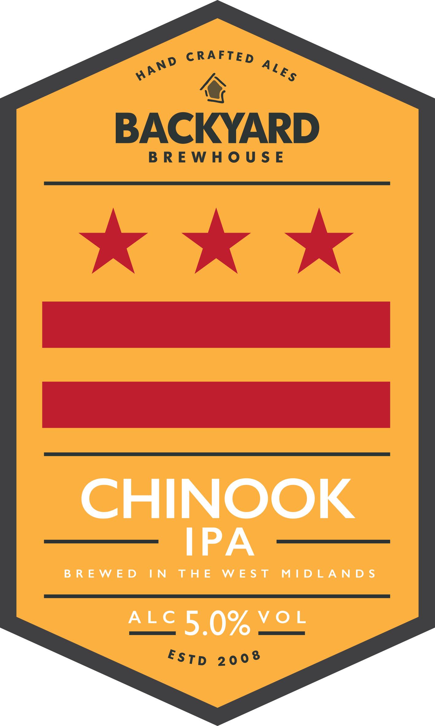 Backyard Chinook 9 Gallons Pale 5.0%