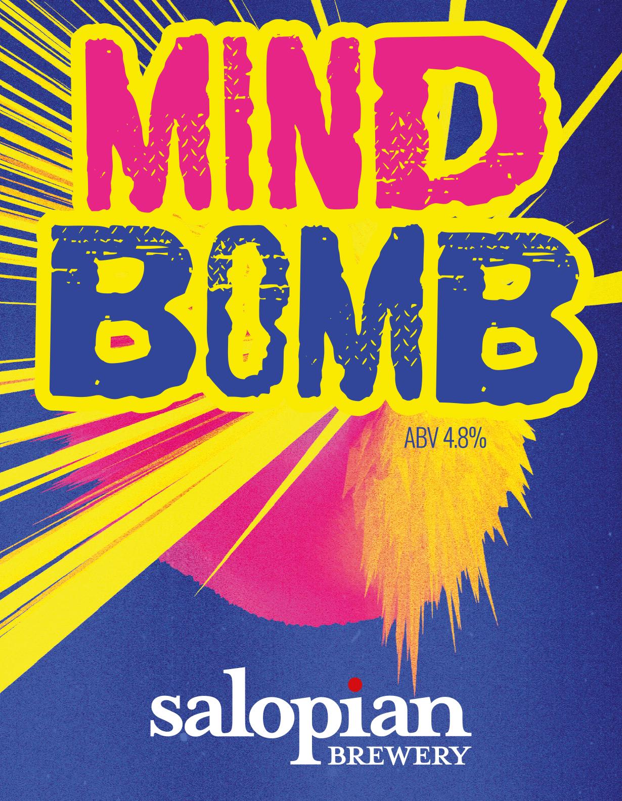 Salopian Mind Bomb Stout 9 Gallon Dark 4.8%