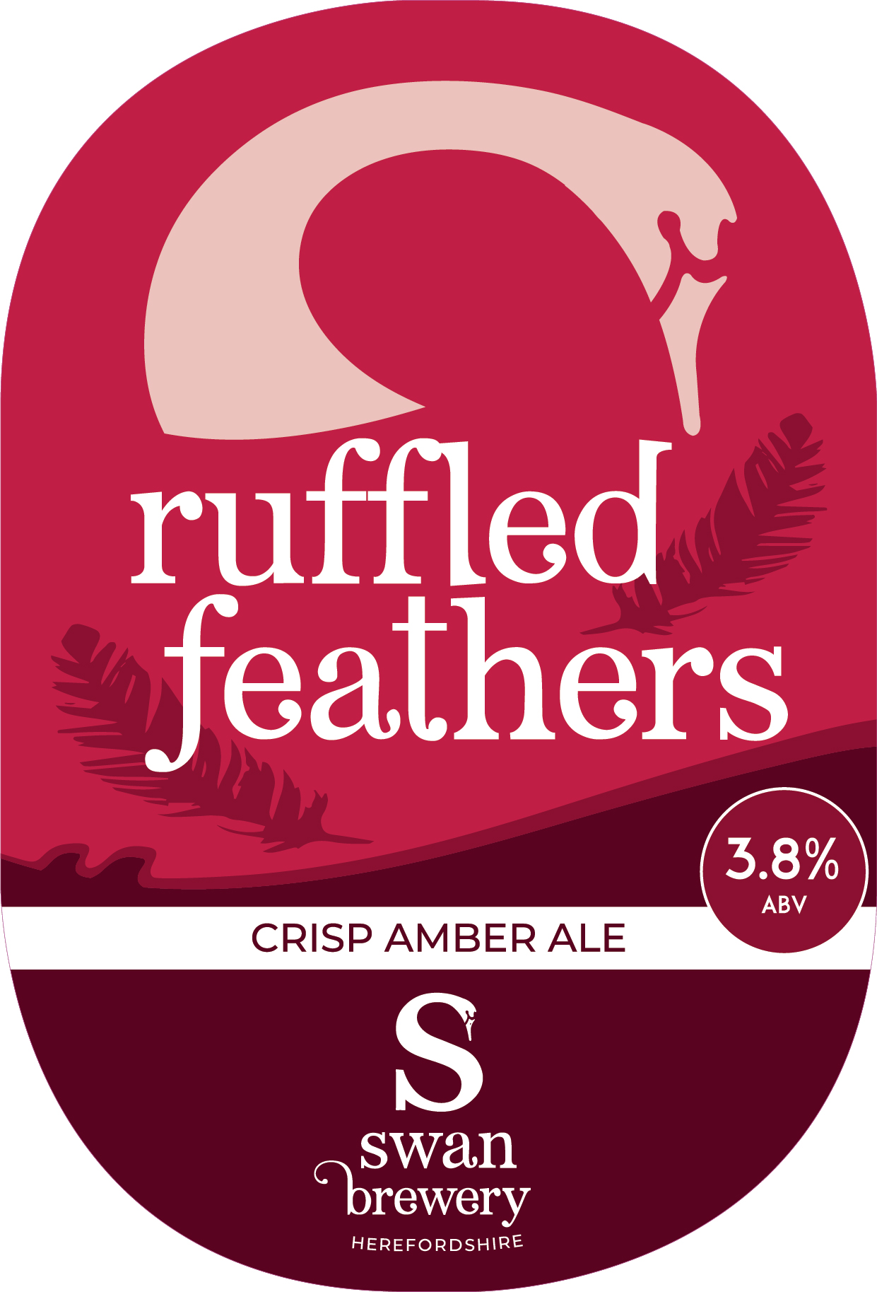 Swan Brewery Ruffled Feathers 9 Gallons Amber 3.8%