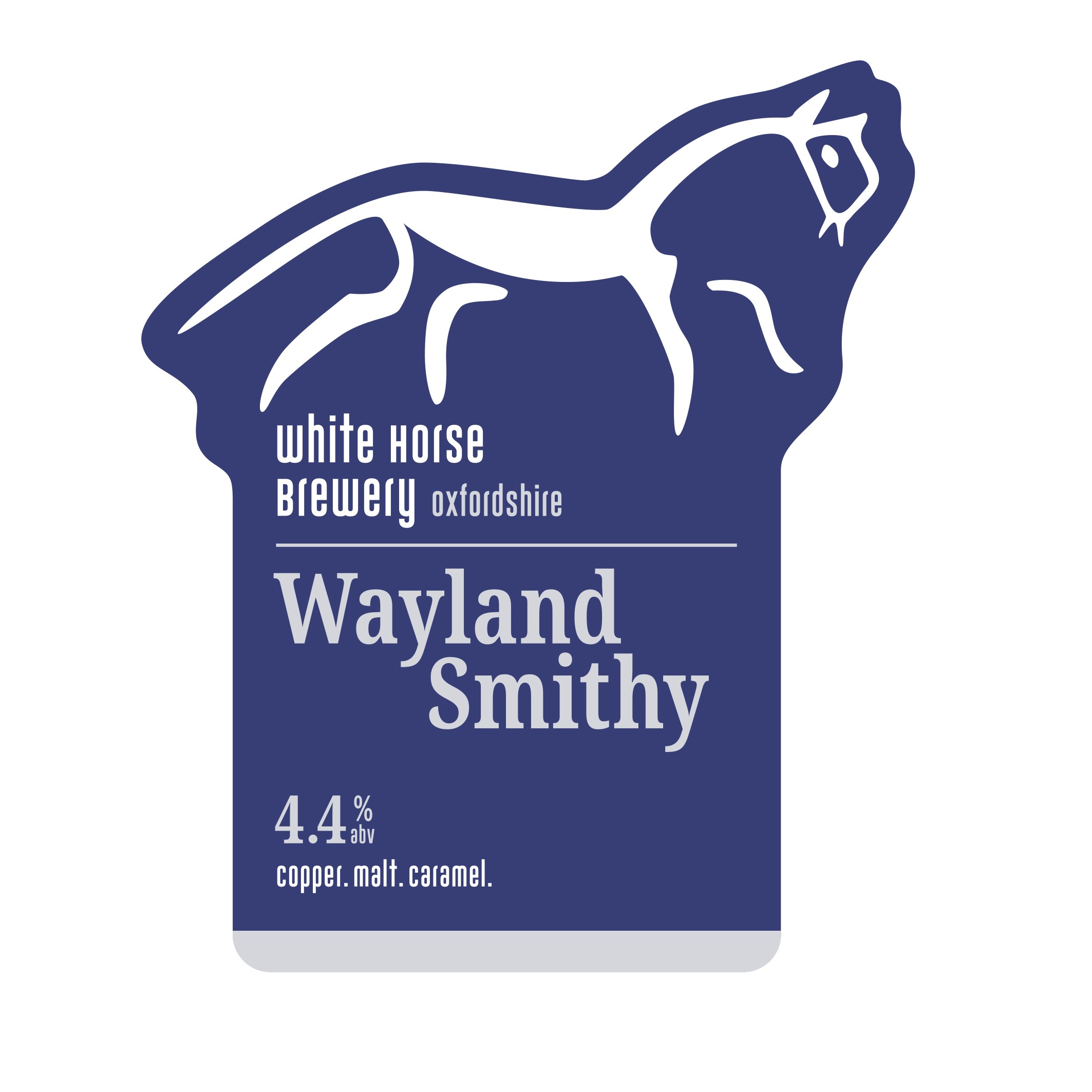 White Horse Wayland Smithy 9 Gallons Copper 4.4%