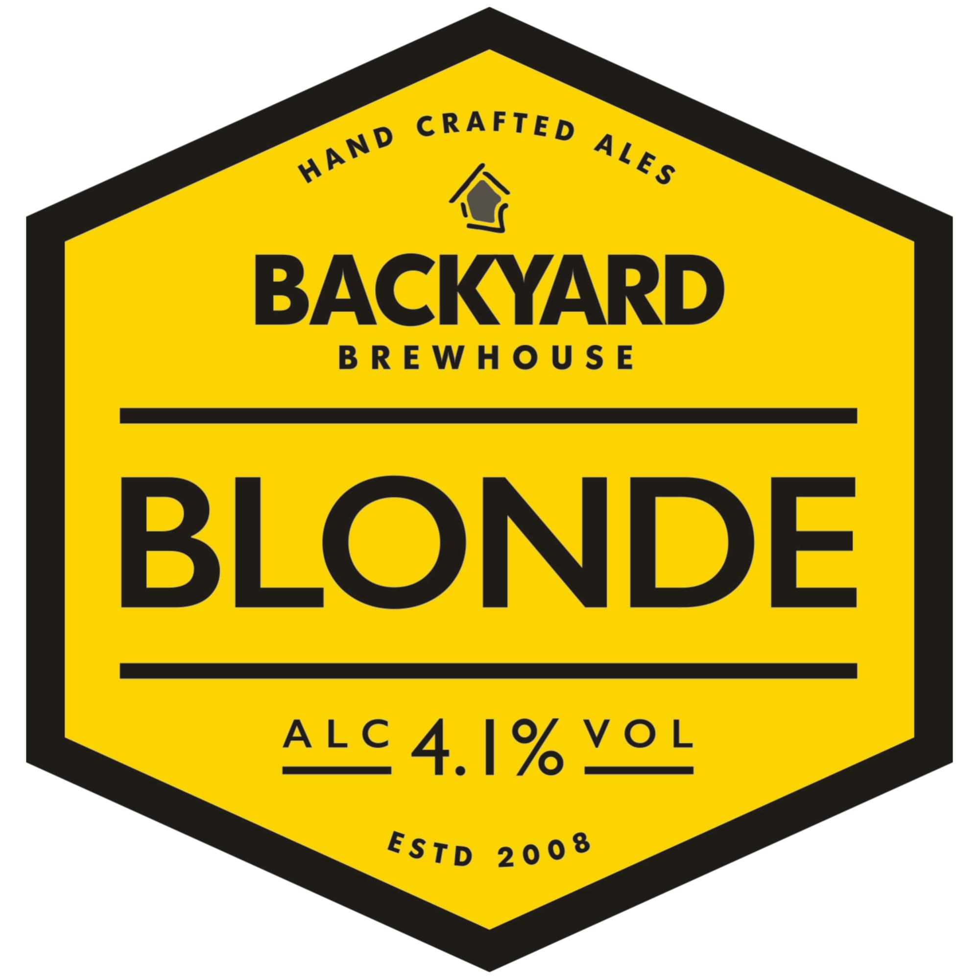 Backyard Blonde 9 Gallons Blonde 4.1%